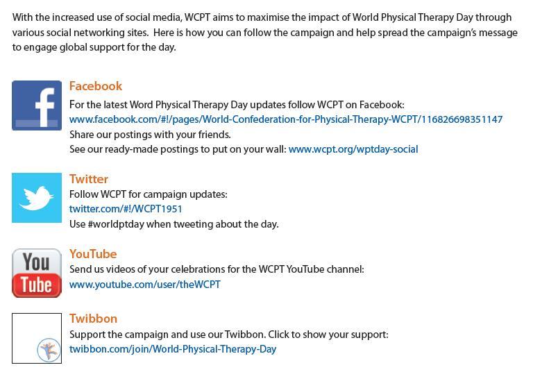 Réseaux sociaux WCPT