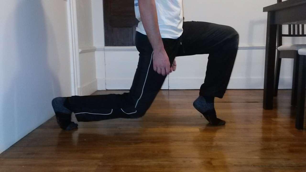 Exercice pronation profil