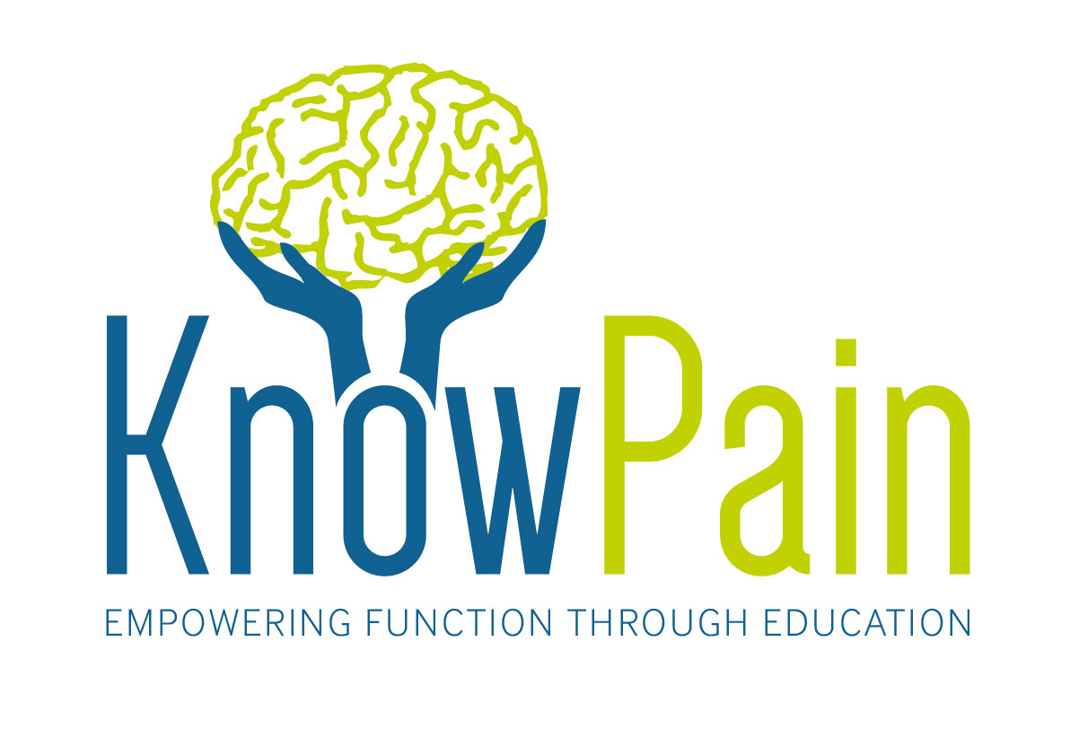 logo know pain mike stewart